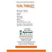 Herbal Natural Iron tablet - Ayursun Ical tablet