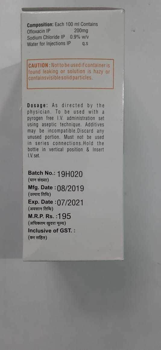 Ofloxocin Injection