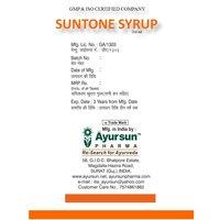 Herbal Syrup For Vigor-suntone Syrup