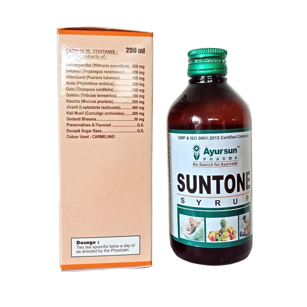 Herbal Syrup For Natural - Ayursun Suntone Syrup