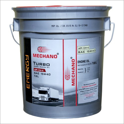 Mechano Energy SAE 15W40 API CH4 Diesel Engine Oil