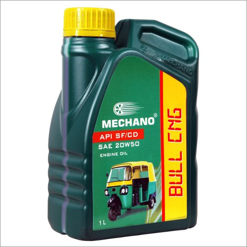 Mechano Bull CNG SAE 20W50 API SF Engine Oil