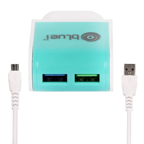 Bluei Ta-02 Rapid 2.4 A, Dual Usb Mobile Charger