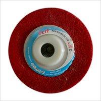 Felt Polishing Wheel, ( Red & White)