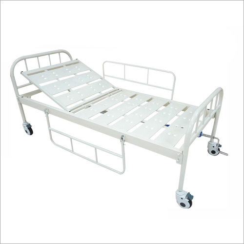 Back Rest Cot With Wheels
