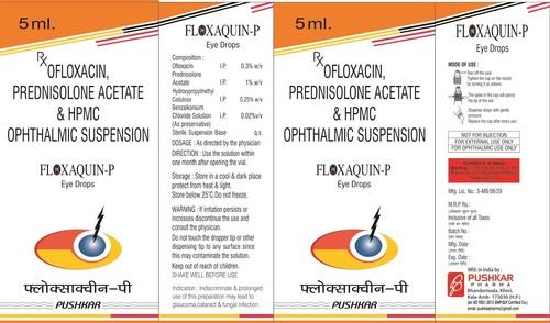 Ofloxacin, Prednisolone Acetate & Hpmc Ophthalmic Suspension