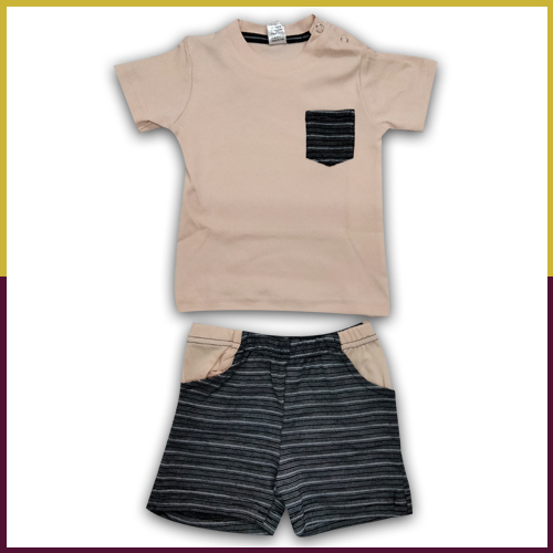 Sumix Skw 173 Baby Boys T-shirt And Short