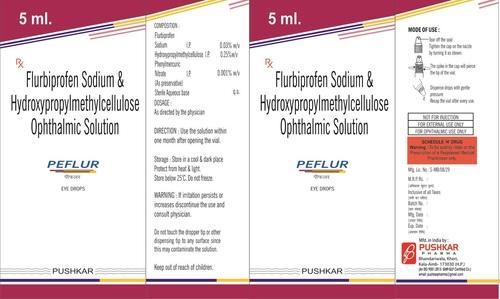 Flurbiprofen Sodium & Hydroxypropylmethylcellulose Ophthalmic Solution