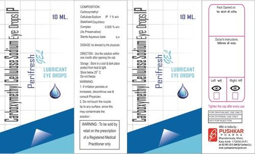 Carboxymethyl Cellulose Sodium Eye Drops Ip