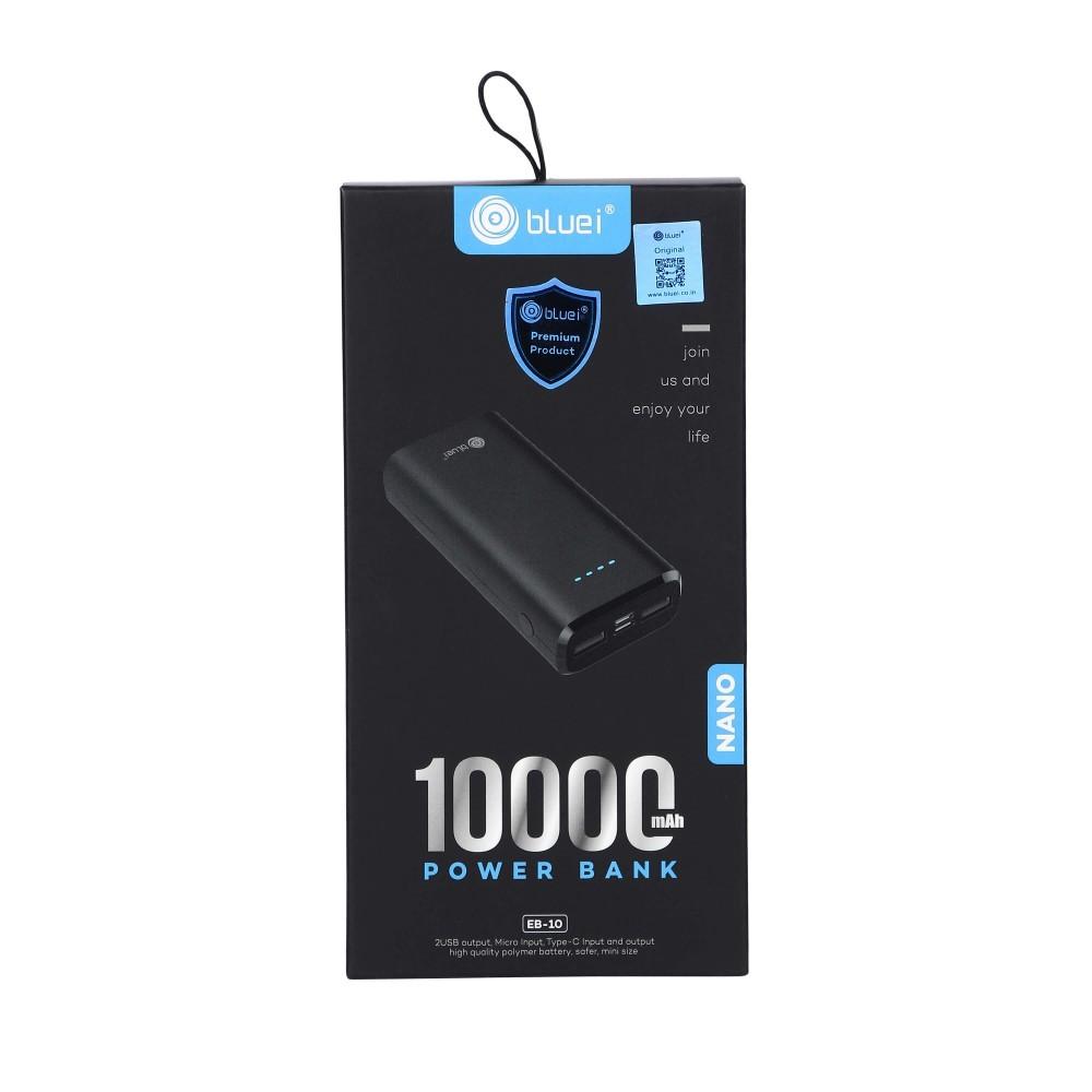 Bluei Eb - 10 Nano- 10000 Mah Power Bank Li-polymer Battery