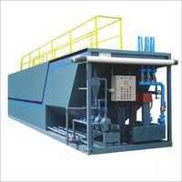 Compact Prefabricated STP Plant