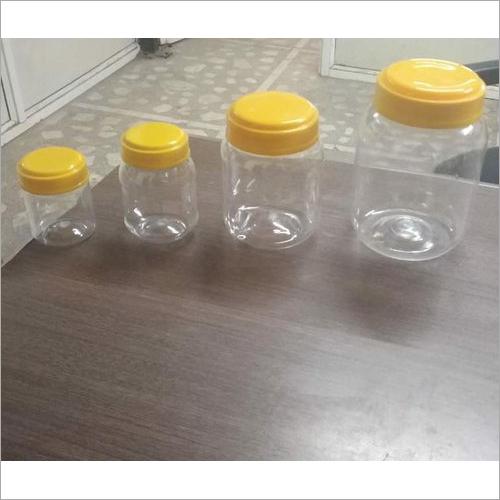 PET Plastic Round Jars