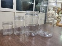 100 ml to 1 liter PET Plastic Jars for Ghee