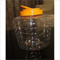 5 Ltr Transparent PET Jars
