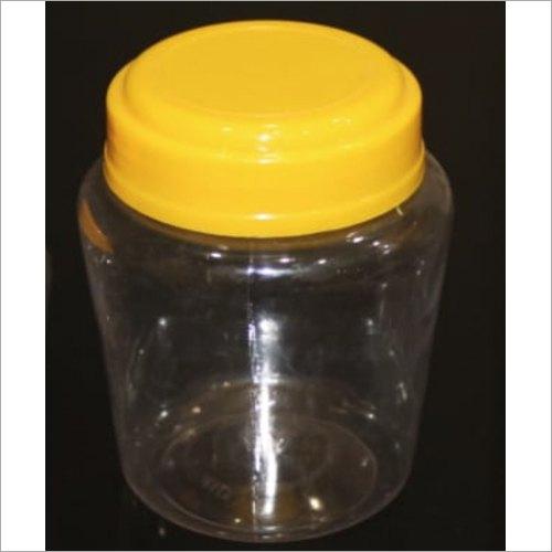 500ml Transparent PET Ghee Jars