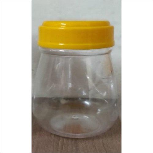 Transparent Plastic PET Ghee Jars