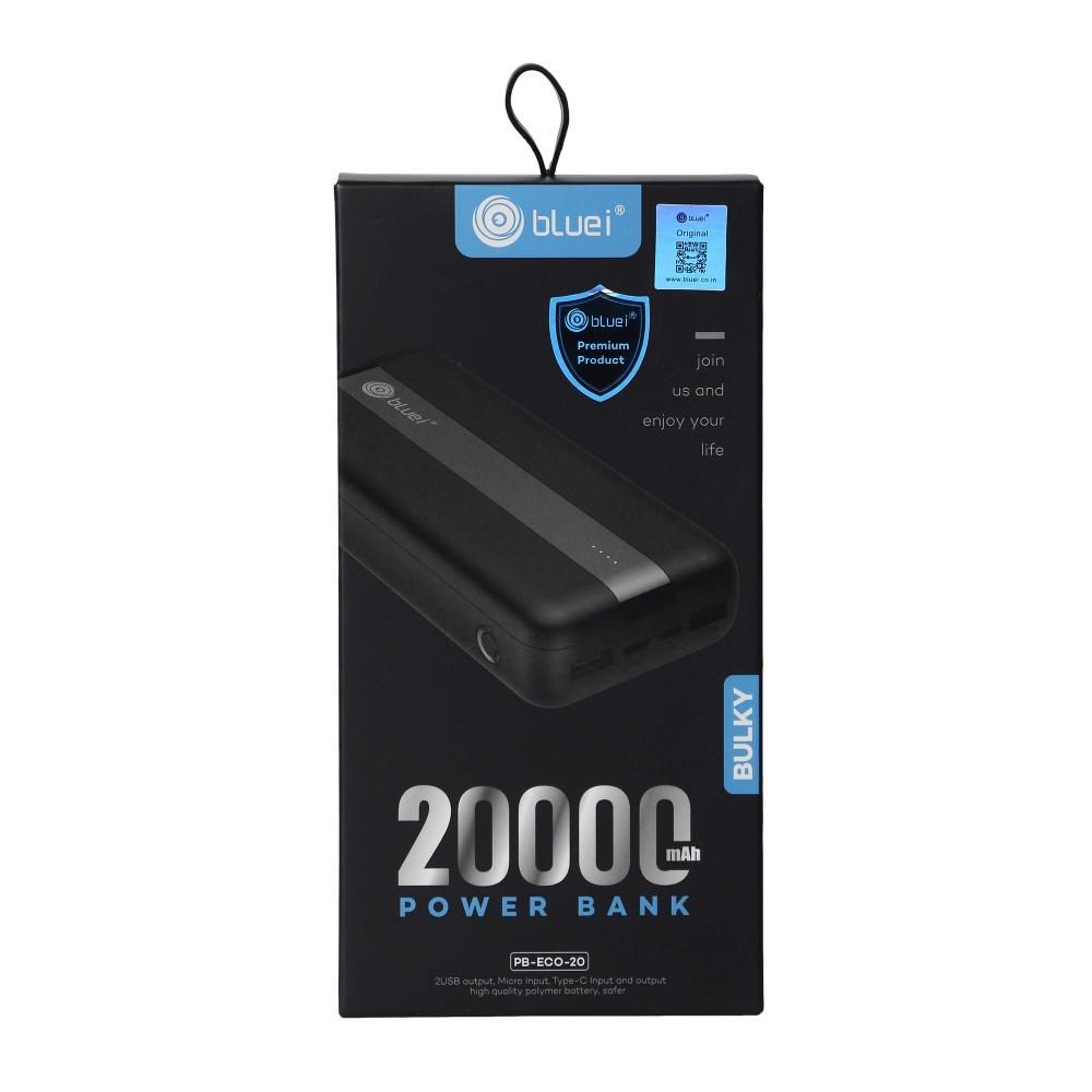 Bluei Pb-eco-20-bulky-20000 Mah Power Bank Li-polymer Battery