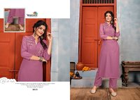 Jhumka Vol 1 Designer Party Wear Heavy 14 Kg Rayon With Embroidery Work Kurtis