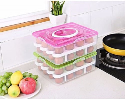 DOUBLE LAYER EGG TRAY