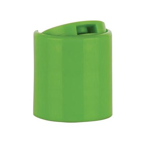 Green Plastic Disc Top Caps