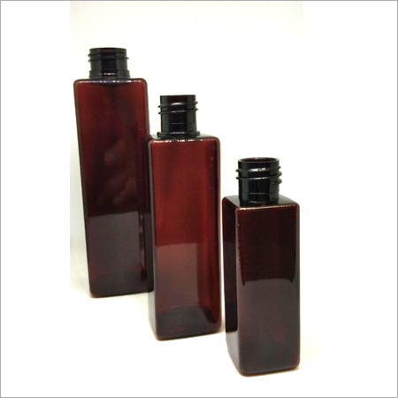 Cosmetic PET Square Bottle