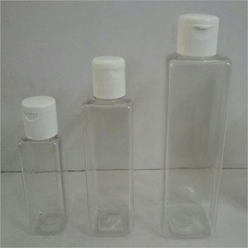 100ML Cosmetic Pet Square Bottle