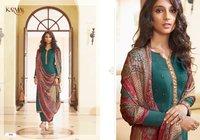 Sabah Vol 2 Ladies Wear Pure Muslin Embroidery Salwar Suits