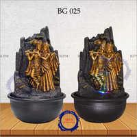 Radha Krishna Backflow Incense Burner