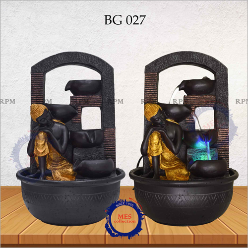Lord Buddha Backflow Incense Burner