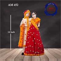 14 Inch Decorative Couple Statue