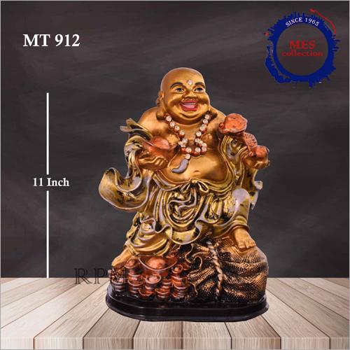 11 Inch Laughing Buddha Statue