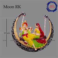 10 Inch Radha Krishna Statue