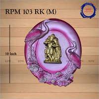10 Inch Radha Krishna Wall Frame
