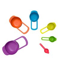 6pcs Multi Measuring Cups and Spoons Set