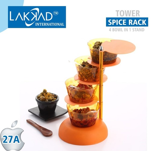 Pickle Container Multipurpose 360 Degree Rotating Spice Rack
