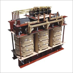 Internal View Of Oil Cooled Transformer