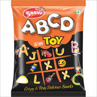 Alphabetical Crispy Snacks