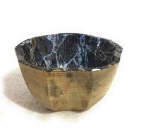 Mango Wood Bowl With Meena