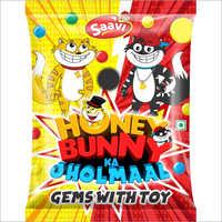 Gems With Toy Snacks