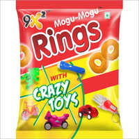 Ring With Crazy Toys Snacks