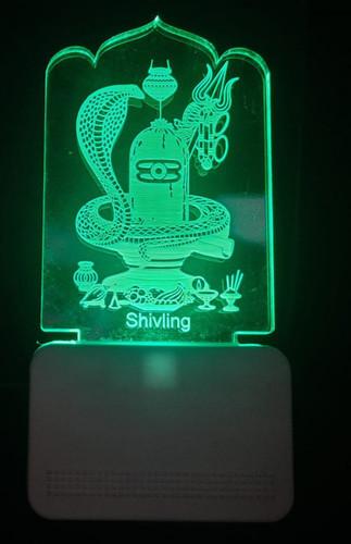 3D ACRYLIC SHIVLING CAR NIGHT LAMP