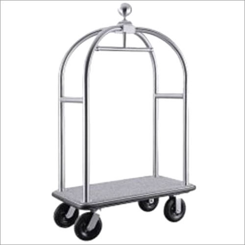 SS Luggage Trolley