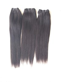Natural South Indian Temple Straight Human Hair