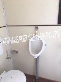PUF Portable Toilet Block