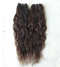 Single Donor Raw Indian Wavy Hair