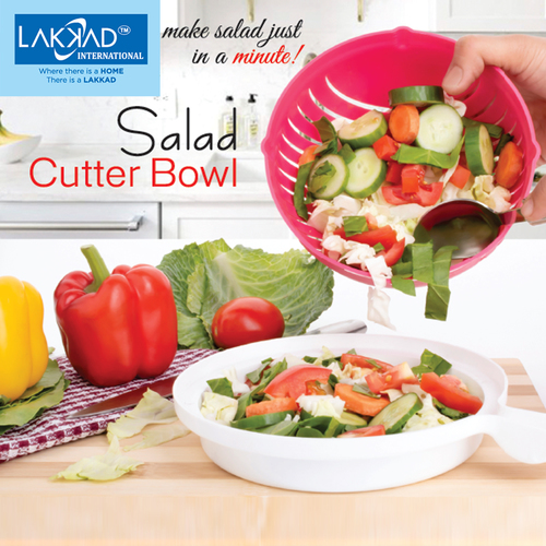 Fruit & Vegetable Salad Cutter Bowl