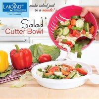 Fruit & Vegetable Salad Cutter Bowl