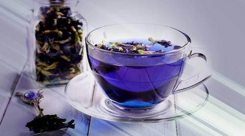 BLUE PEA Green Tea