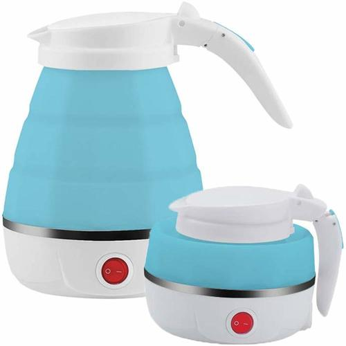 SILICON FOLD-ABLE TRAVEL KETTLE