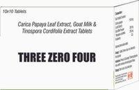 Carica Papaya Leaf, Goat Milk Formula